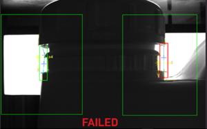 failed cap inspection