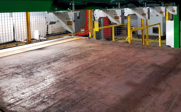 steel plate inspection