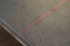 laser scanning surface defects on steel