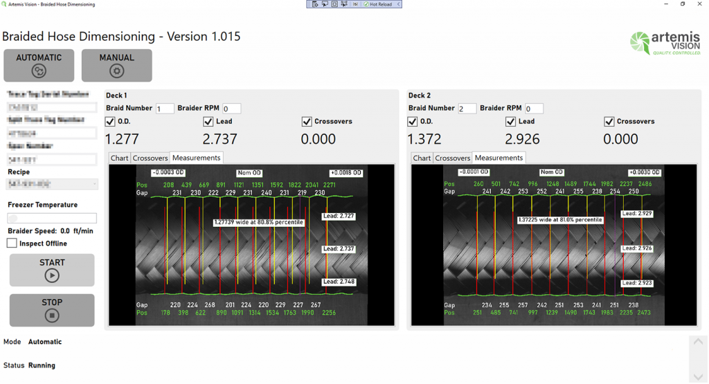 visionWrangler visualize inspections
