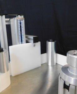 line scan camera on label inspection system