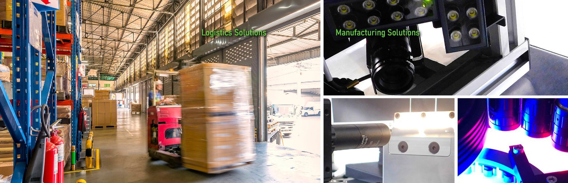 machine vision solutions for manufacturing and logistics