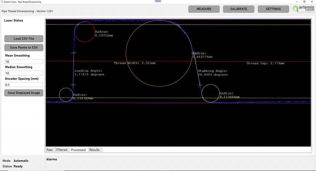 pipe thread dimensioning radius