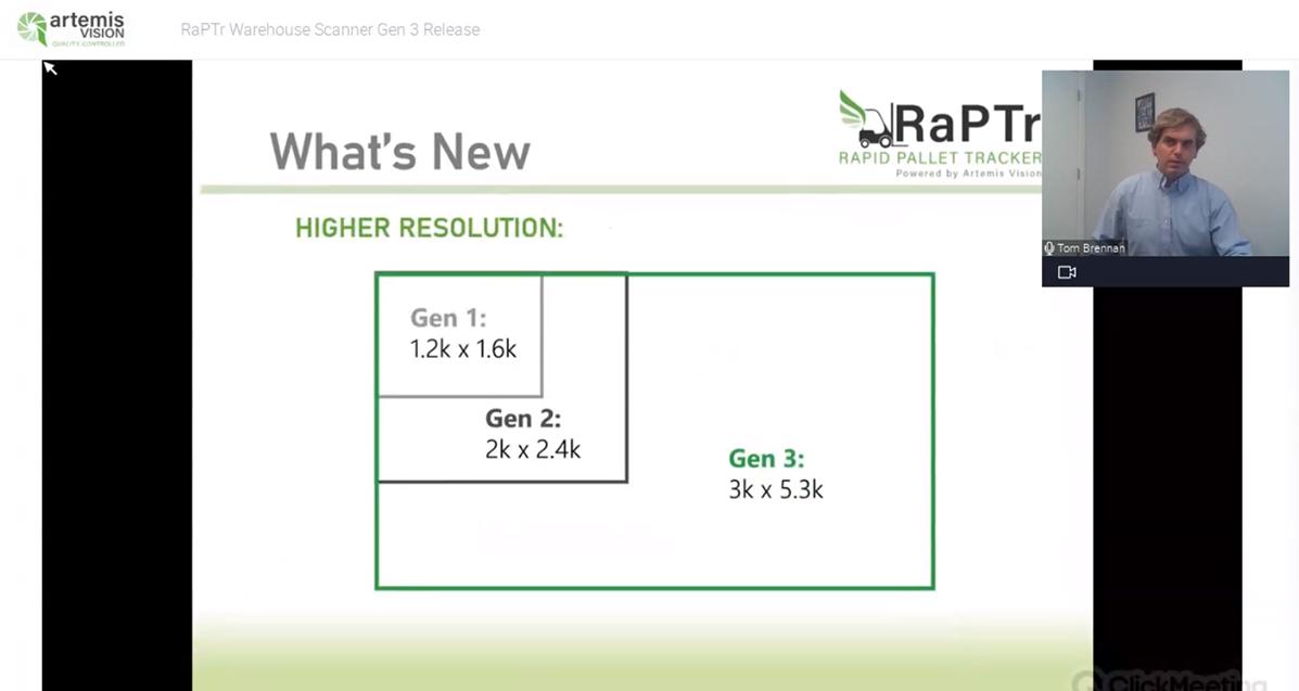 RaPTr Gen 3 Release Recording